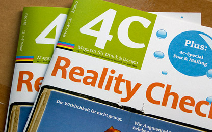 <i>4c</i> magazine introduces Acorde as headline typeface