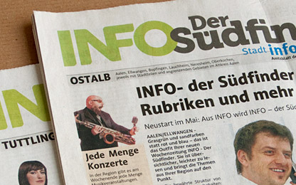 German newspaper <i>INFO – <br>Der Südfinder</i> trusts in Acorde