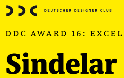 Sindelar wins a <i>DDC Award</i> <br>in Frankfurt