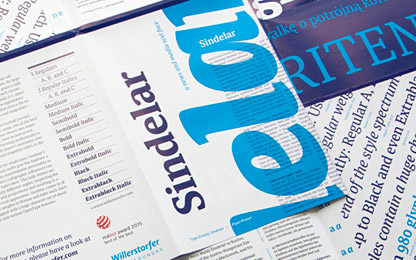Order your printed Sindelar specimen free of charge