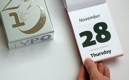 Typodarium 2013 features Acorde on November 28